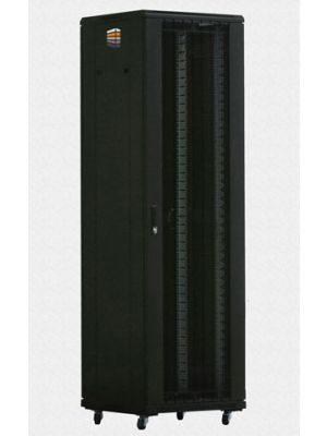 TOWEREZ ® - PREBUILT 42U Server Cabinet 600 (W) x 600 (D) x 2000(H) Vented Front Door
